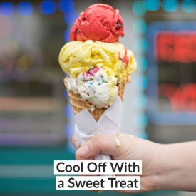 Cool Off With a Sweet Treat
