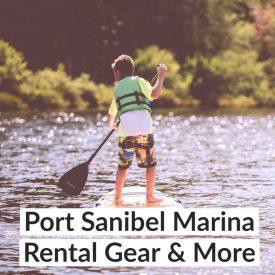 Port Sanibel Marina Rental Gear & More