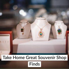 Take Home Great Souvenir Shop Finds